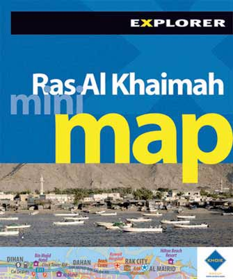 Mini Map Ras Al Khaimah (Eua), 1st Ed.