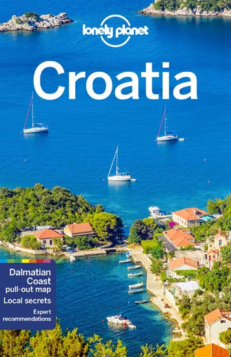 Carte Croatie Lonely Planet.Lonely Planet Croatia Lonely Planet