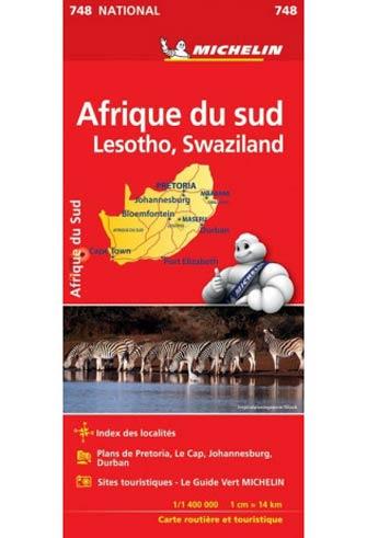 Carte Ign Afrique Du Sud.Carte Michelin Afrique Du Sud South Africa 748