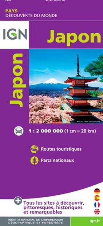 Ign #85122 Japon   Japan | Carte Ign Pays Villes du Monde