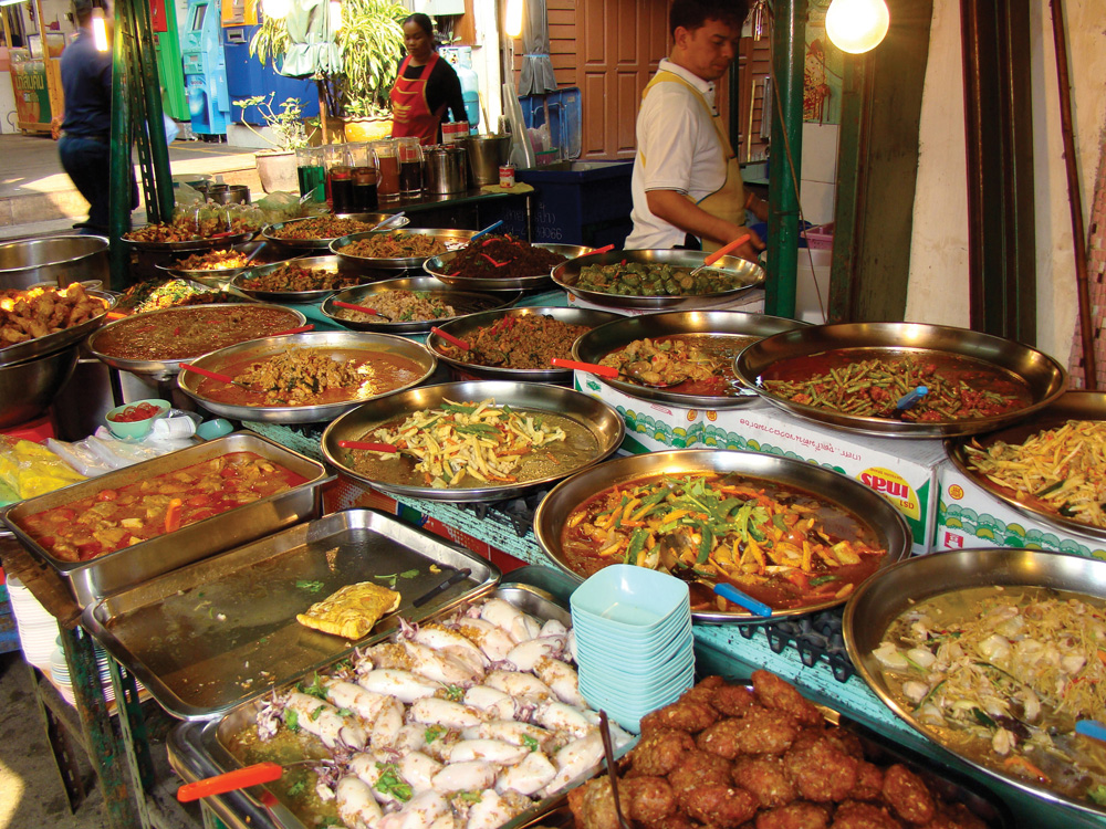 La street food en Thaïlande | © Richard Saindon