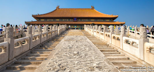 Forbidden City, Beijing, China | ©See-ming Lee - Flickr