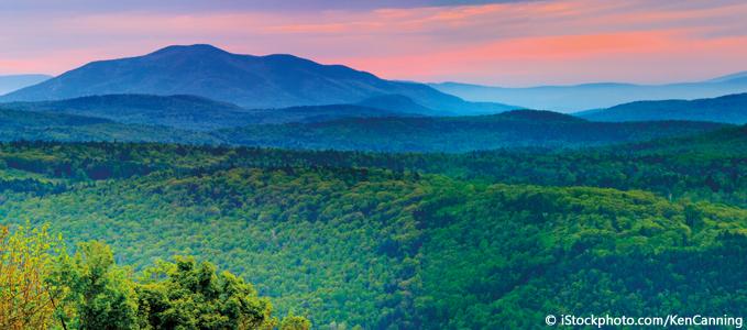 Green Mountains et Long Trail