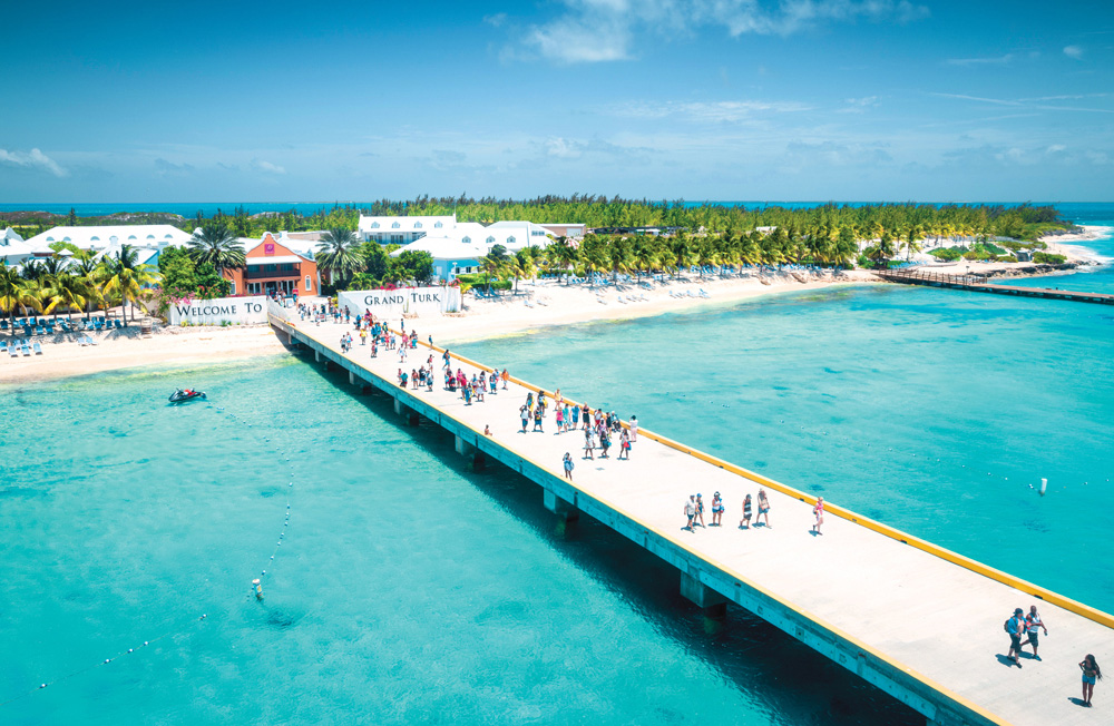 Grand Turk Cruise Center. | © iStockphoto.com/mikolajn