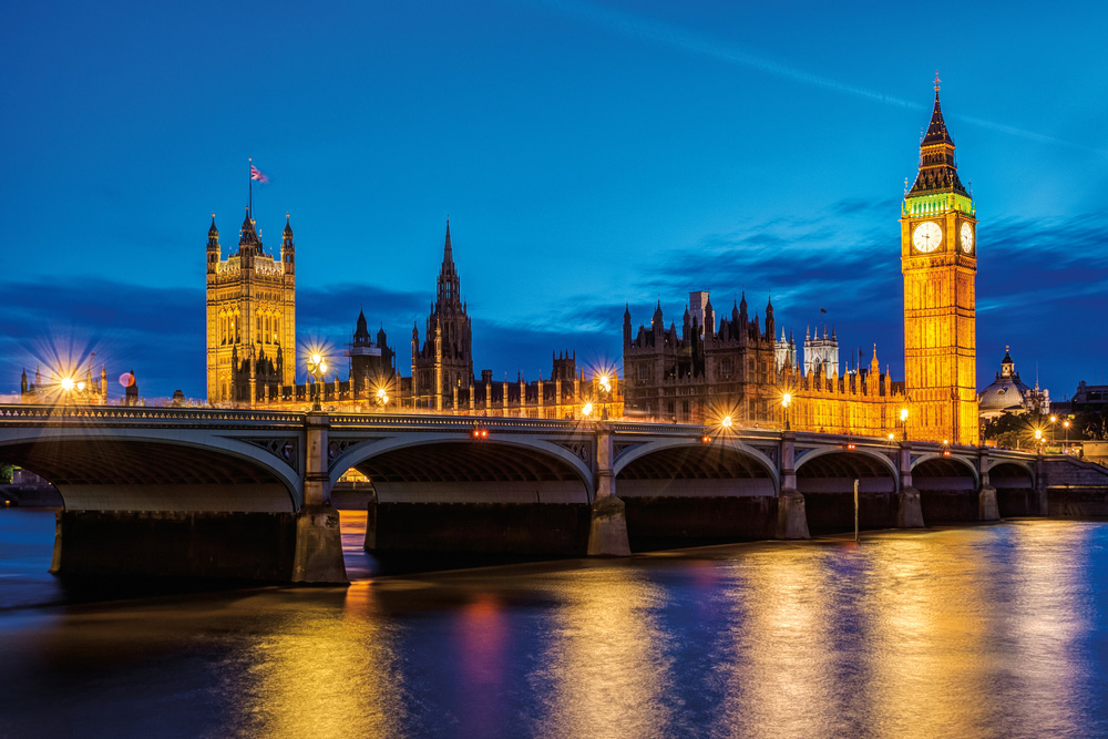 Palace of Westminster / Londres ¦ © iStockphoto.com/bukki88