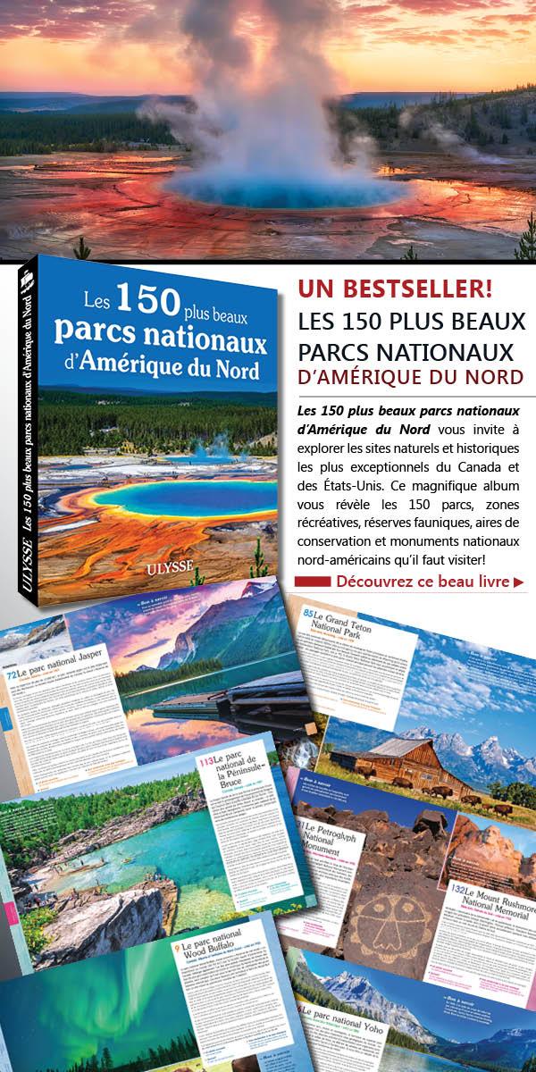 150 plus beaux parcs Amerique du nord